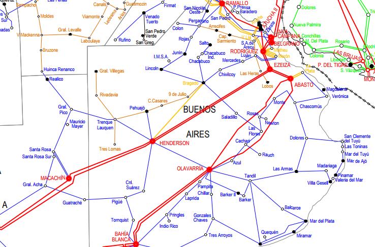 (K19) AEA – Los componentes de la generación y transmisión eléctrica. El sistema argentino de interconexión