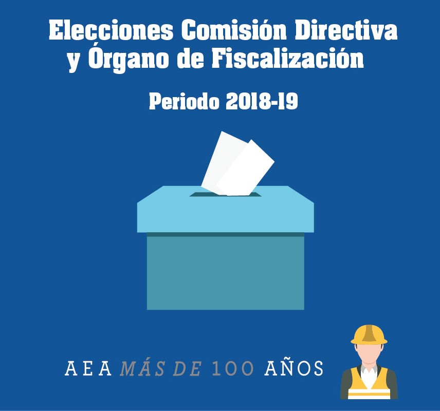 Elecciones Comisión Directiva  y del Órgano de Fiscalización