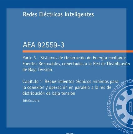 Nueva Reglamentación AEA 92559-3