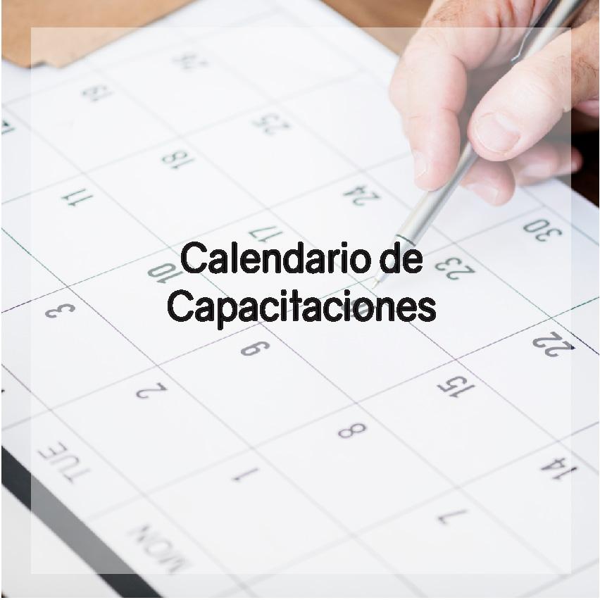 Calendario de Capacitaciones AEA