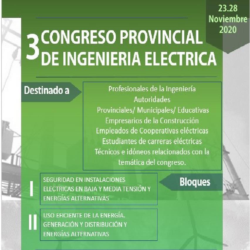 AEA auspicia y participa en el 3° Congreso Provincial de Energía Eléctrica